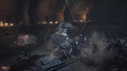 【ダークソウル3】チートでボス同士を戦わせた動画が熱すぎるwwwwww
