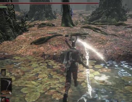 【ダークソウル3】森で鴉鎌メインの一人出待ちやってみた