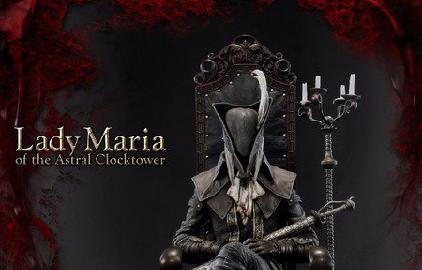 ブラッドボーンのマリアのフィギュアが2018年3~5月発売決定!!価格はなんと7万超えww