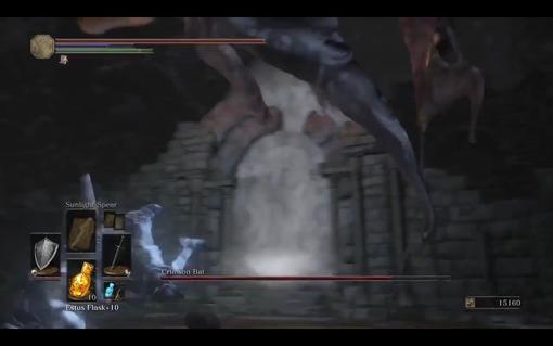 【ダークソウル3】DLC2に出てくる石のアーチの形状が無印の祭祀場のものと酷似