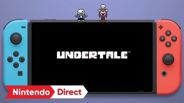 【速報】NintendoSwitch版『UNDERTALE』のパッケージ版が9月15日に発売決定!!!!!!