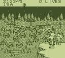 バートのサバイバルキャンプ  アクレイムジャパン ゲームボーイ GB版