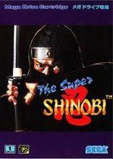 ザ・スーパー忍 THE・SUPER SHINOBI セガ メガドライブ MD版