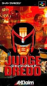 ジャッジドレッド アクレイムジャパン スーパーファミコン SFC版