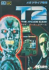 T2 ザ・アーケードゲーム アクレイムジャパン メガドライブ MD版