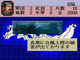 戦国の覇者 天下布武への道 バンプレスト スーパーファミコン SFC版