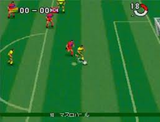 Jリーグスーパーサッカー95 実況スタジアム ハドソン スーパーファミコン SFC版