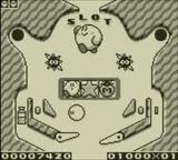 カービィのピンボール 任天堂 ゲームボーイ GB版