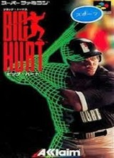 BIG HURTビッグハート ベースボール アクレイムジャパン スーパーファミコン SFC版