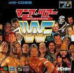 WWF マニアツアー アクレイムジャパン メガドライブ MD版