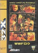WWF RAWロウ アクレイムジャパン メガドライブ32X MD版