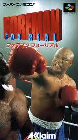 フォアマン フォーリアル アクレイムジャパン スーパーファミコン SFC版