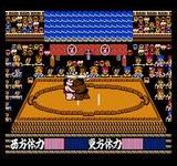 つっぱり大相撲 テクモ ファミコン FC版