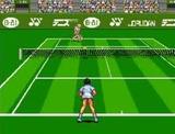 伊達公子のバーチャルテニス ビーアイ スーパーファミコン SFC版