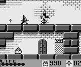 ミッキーマウス�4 魔法のラビリンス ケムコ ゲームボーイ GB版
