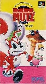 ミスターナッツMR.NUTZ ソフエル スーパーファミコン SFC版