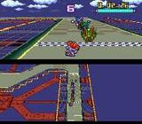 バトルレーサーズ  バンプレスト スーパーファミコン SFC版