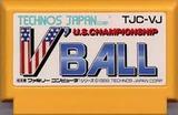 VボールV'BALL テクノスジャパン ファミコン FC版