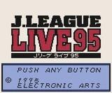 Jリーグ ライブ95 EAビクター ゲームボーイ GB版