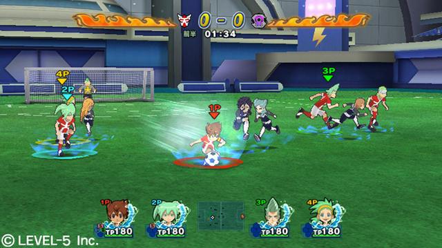 تحميل لعبة inazuma eleven strikers