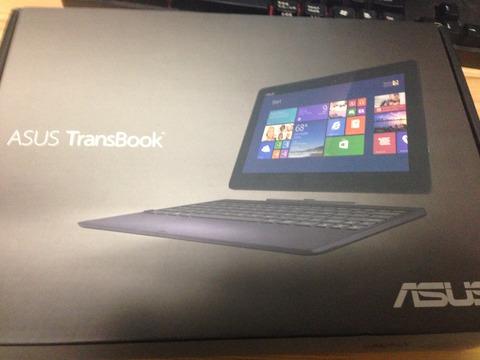 ASUS TransBook T100TA-DK32Gをやっと買いました…!!