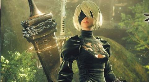 「NieR: Automata」トレイラー公開。キレのあるアクションに進化!