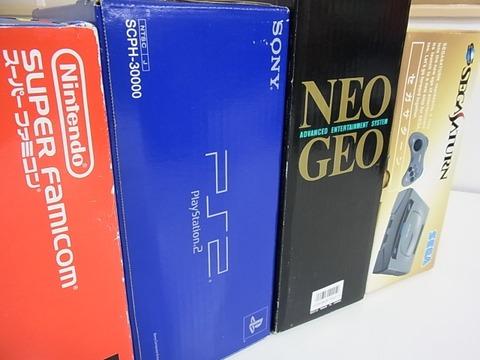日本の家庭用ゲーム黄金期はスーパーファミコン~PS2