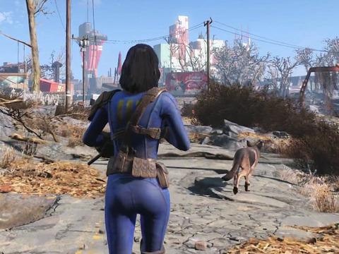 海外にて11/10の発売が迫る「Fallout 4」ローンチトレイラー公開!初見ビジュアルも収録