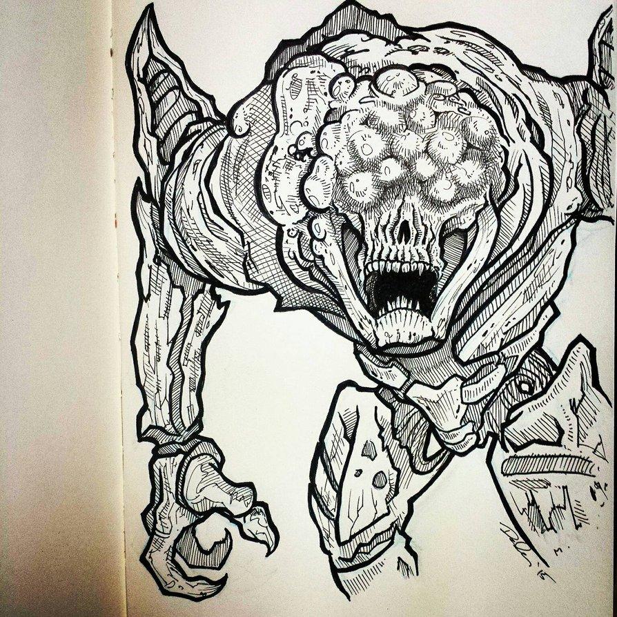 【destiny】ペン画のファンアート多数紹介! ゲーム攻略のまるはし