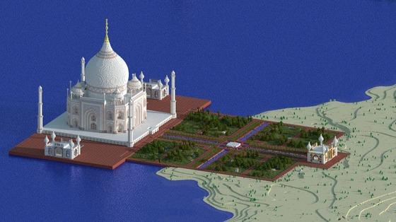 10 - The Taj Mahal