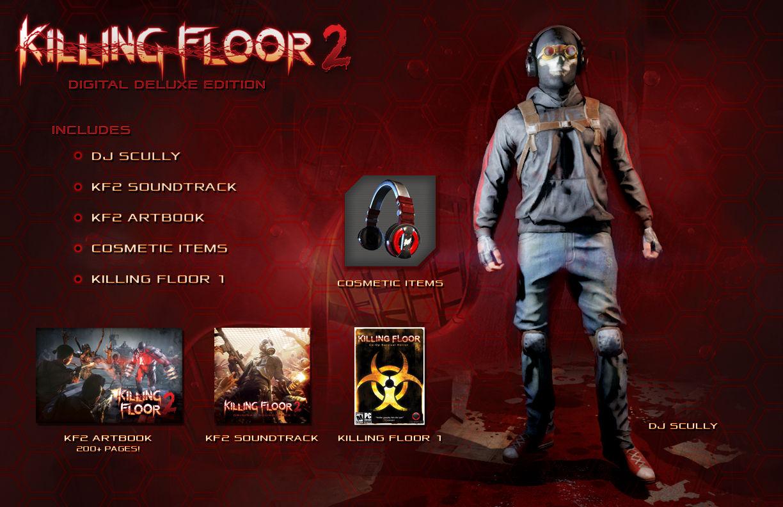 【kf2】『killing Floor 2(キリングフロア2)』デジタルデラックス版の詳細と推奨pcスペックが公開