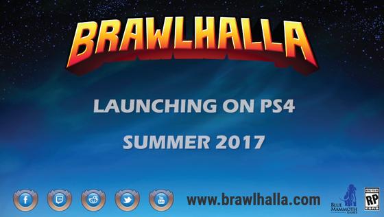 PCで人気のタイトル「Brawlhalla」がPS4でも!クローズドベータの参加も受け付け中 : ゲーム攻略のまるはし