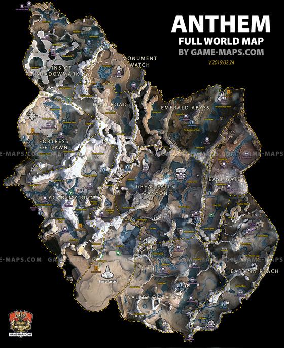 Anthem-World-Map