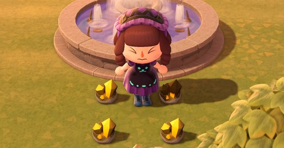 Animal-Crossing-New-Horizons-Gold-Nugget-Fountain