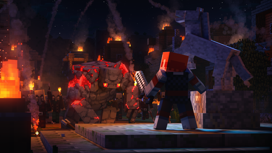 Minecraft_Dungeons_Intro_Cinematic_Redstone_Golem_Approaching
