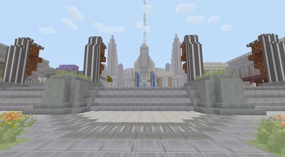 Minecraft Destiny Tower _02