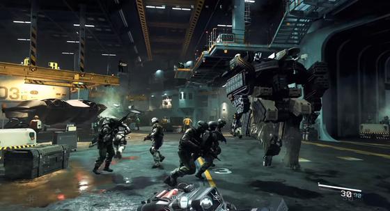 Cod iw call of duty infinite warfare ship assault zombies in spaceland - Infinite warfare ship assault ...