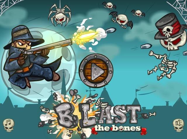Blast The Bonesゲーム