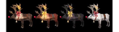 クリスマス乗り物