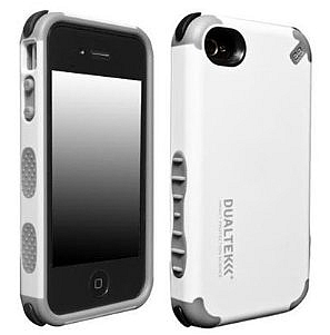 耐衝撃ケース! 【PureGear】DualTek Extreme Shock Case+Shield for iPhone 4/4S - Black/Gray ピュアギア iPhone4 iPhone4S ケース ブラック/グレイ