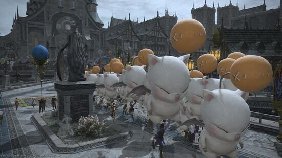 【FF14】蒼天街復興祝祭「フェトゥ」が各鯖で開催!1度に5回のイベントが実施され蒼天街は大盛り上がり!