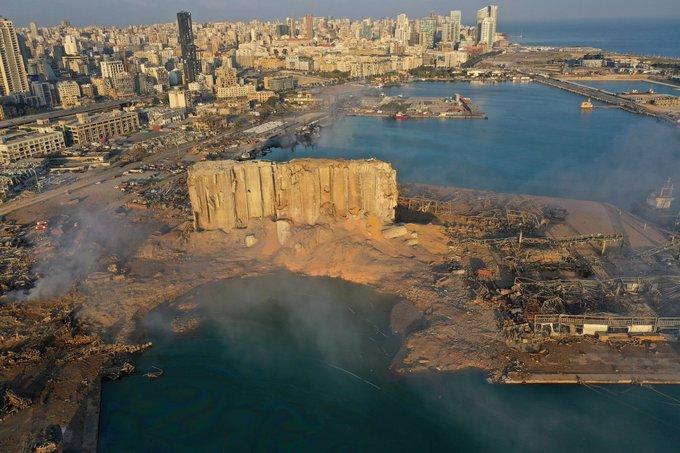 【画像】 レバノン・ベイルート爆発事故の爆心地にクレーター出現! どこかで見たような光景だった・・