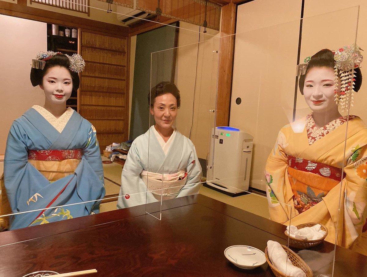 京都・祇園の舞妓2人がコロナ感染どす ホストクラブよりあかん状態 …次のトレンドは「祇園クラスター」か?