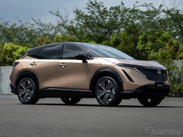 日産 600km超走るEV、新型SUV「アリア」を世界初公開! 実質何km走れるのかが気になるところです