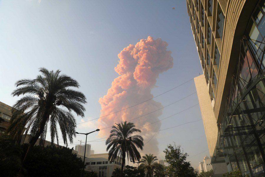 【悲報】大爆発のレバノン、どこかで見たような? 最近のゲーム画面にでも登場しそう・・・そのタイトルは?