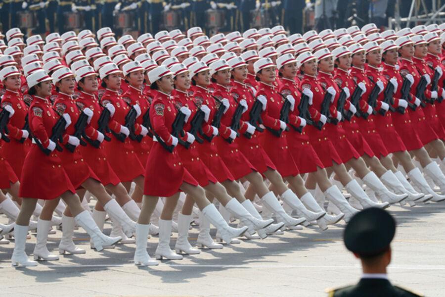 中国「日本は恐ろしい国! 強大な経済力を持ち、軍事強国への夢を捨てない」 ・・・いいえ中国さんも素晴らしい軍隊をお持ちですよw