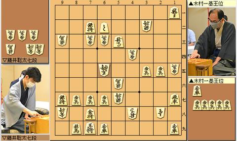 強えー! 藤井七段、木村王位に劣勢から鮮やかカウンター! 逆転勝ち! 2連勝・・・第61期王位戦