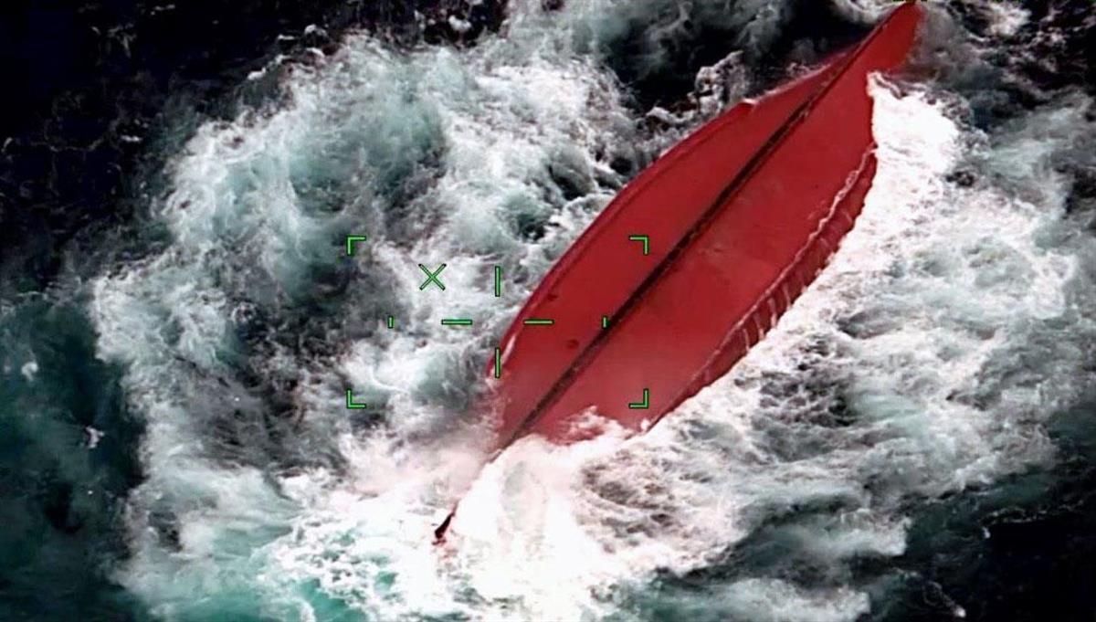 沖縄・石垣島北方で中国船転覆、7人漂流 海保が救助へ