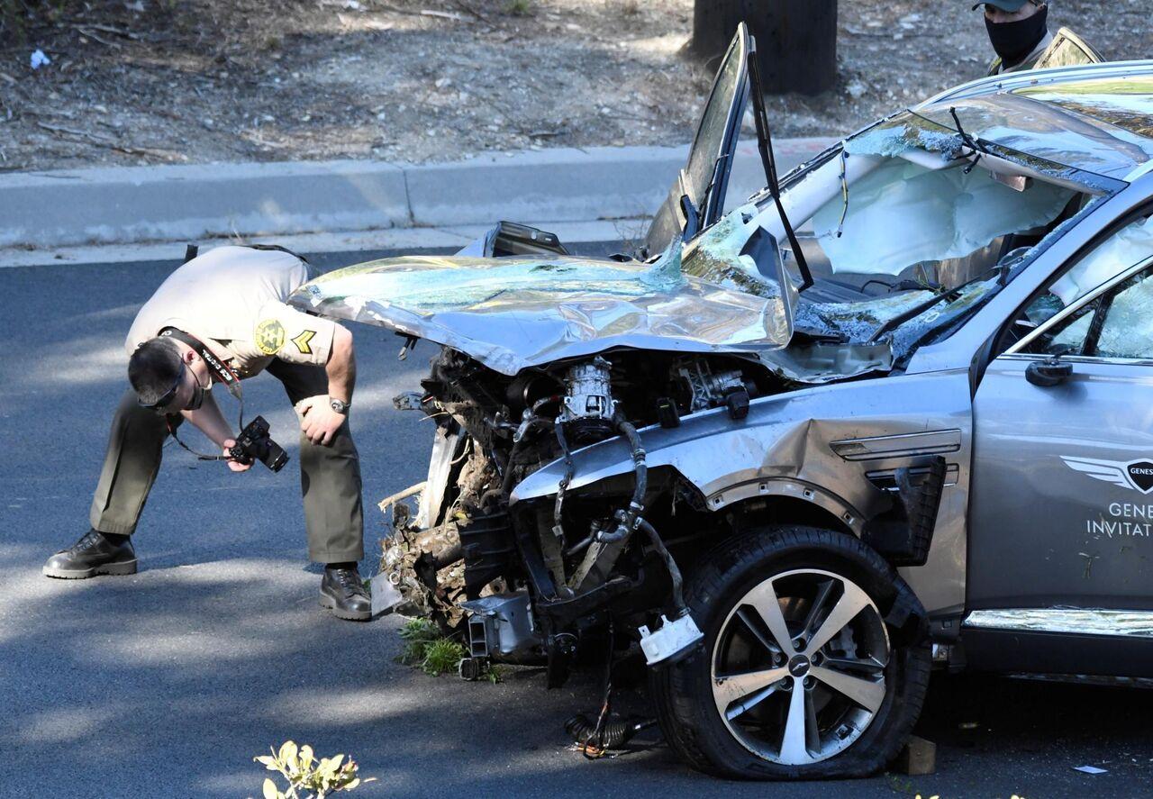 タイガーウッズさん、足の骨が出た状態だった… スポンサーのヒュンダイ車に構造的欠陥か?
