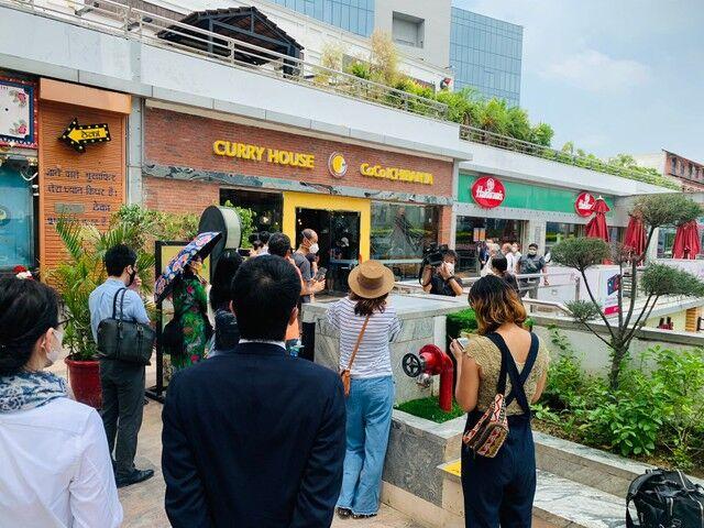 本場インドに「カレーハウスCoCo壱番屋」1号店オープン 尚食べた人のほとんどはインド人で無かった模様w